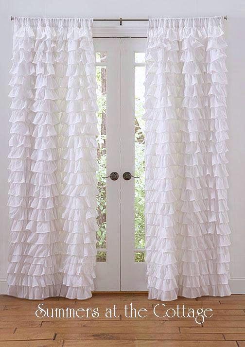 Shabby Beach Cottage Chic Dreamy White Petticoat Ruffles