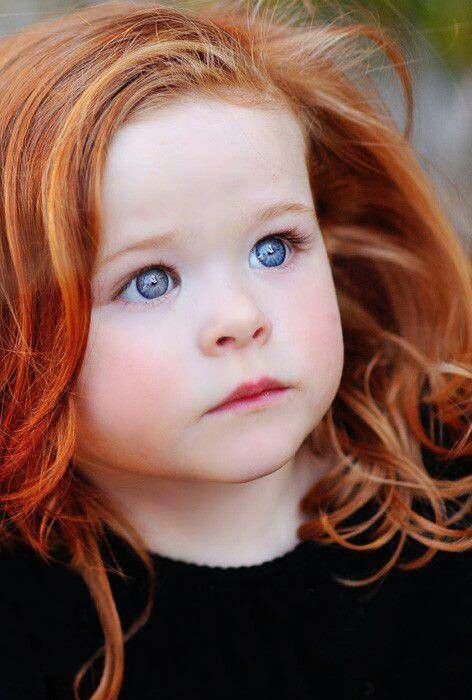 red hair and beautiful blue eyes kids pinterest. Black Bedroom Furniture Sets. Home Design Ideas