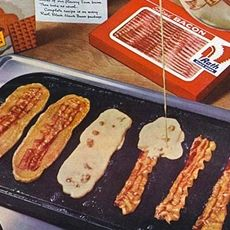 Bacon Strip Pancakes | in a food mood | Pinterest