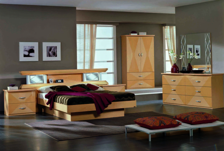 stylish design furniture vera glass king bedroom set 1