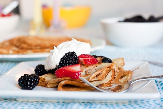 This versatile gluten-free crepes work well with lots of flours and ...