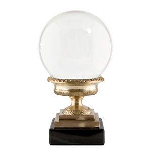 Crystal Sphere on Urn