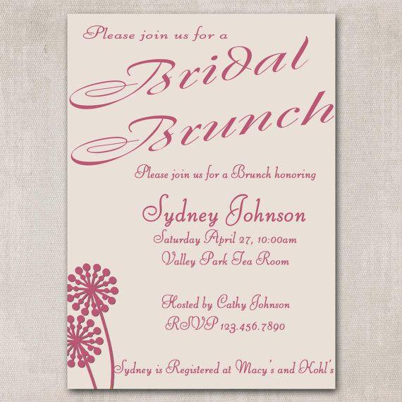 Wedding Brunch Invitations 007 - Wedding Brunch Invitations