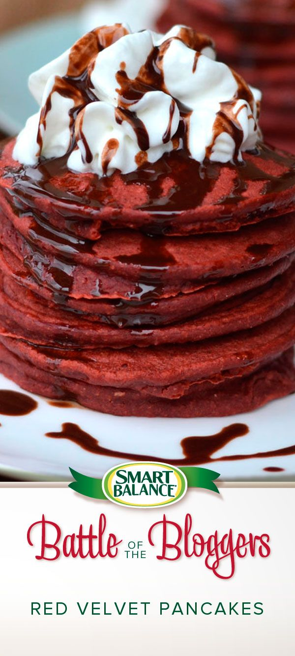 Red Velvet Pancakes | Smart Balance