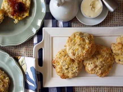 Sweet Corn & Chive Buttermilk Biscuits | Recipes ~ Breads & Butters ...
