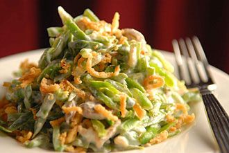 SK Fitness: Skinny Green Bean Casserole - could replace with Ritz ...