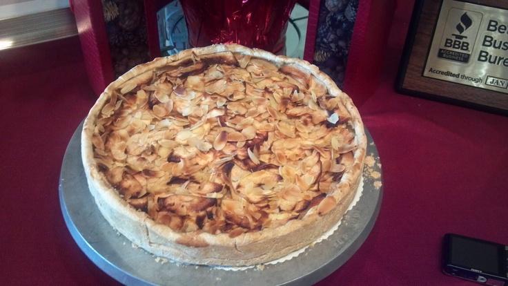 Apple Bavarian Torte | Fall Wedding Decor & Food | Pinterest