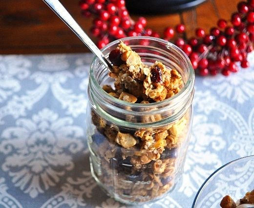 Honey Nut Granola   Food Gift Ideas   Pinterest