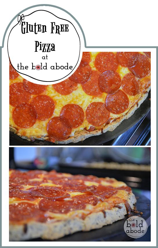 ... think we need this with some drinks. thoughts? Gluten-Free-Pizza