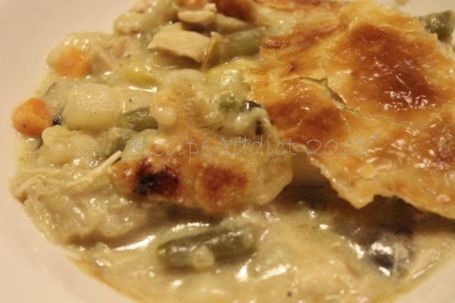 Deep Dish Chicken Pot Pie | Recipes: Let's get cookin'! | Pinterest