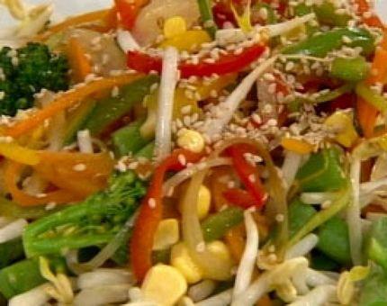 Show de salteados con vegetales proyecto pinterest - Arroz con verduras y costillas ...