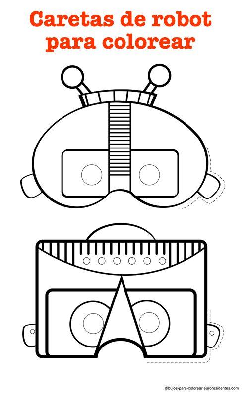 robot masks