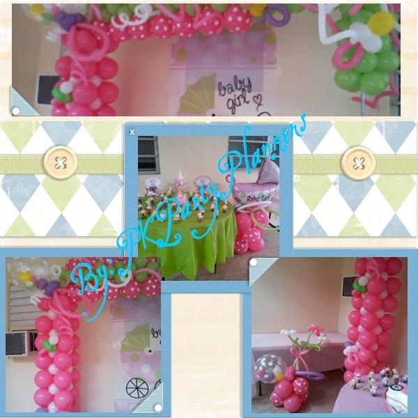 girl baby shower follow this complete baby shower decoration on our