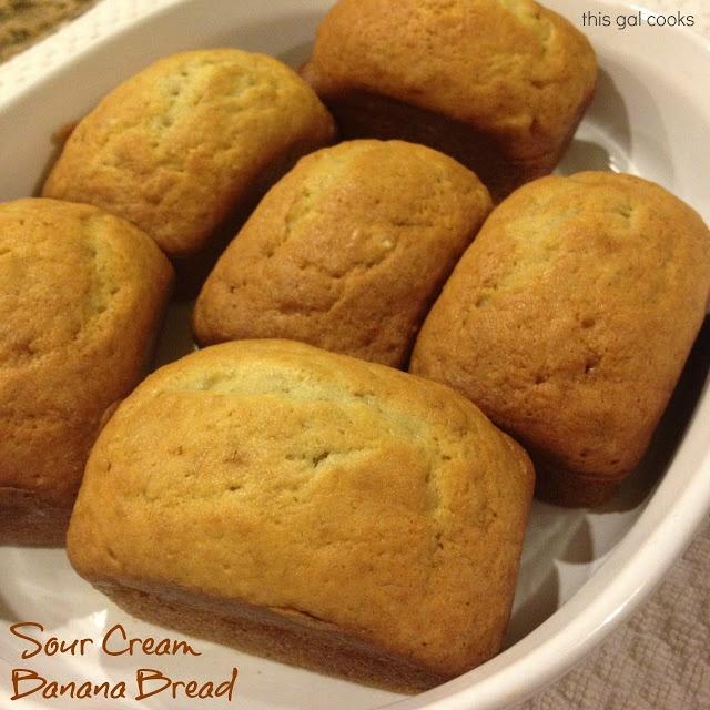 Sour Cream Banana Bread | Recipe