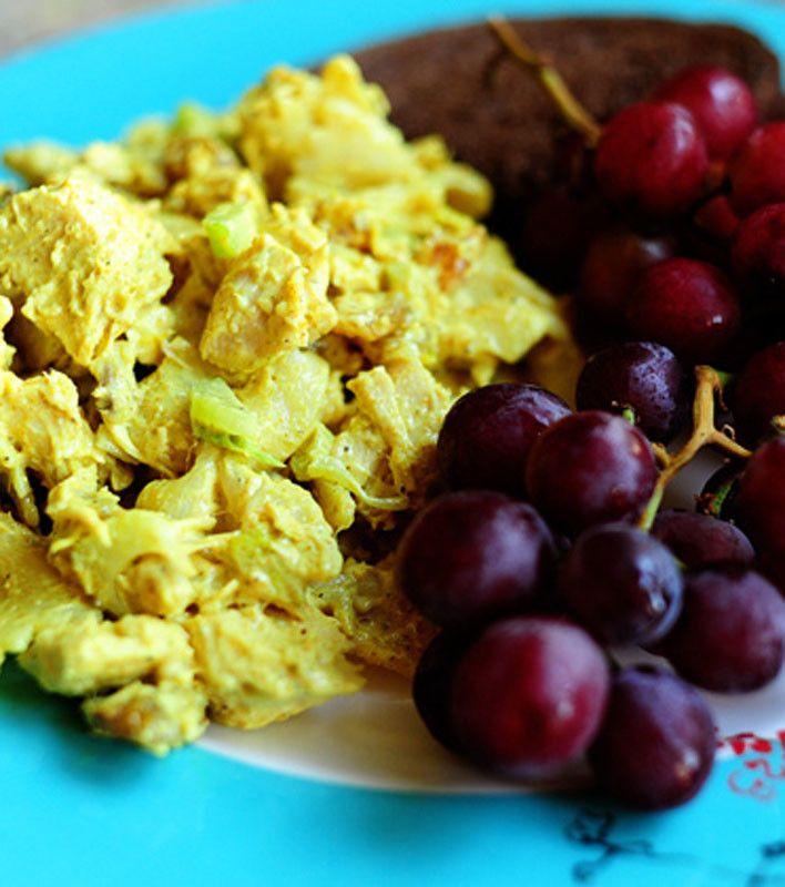 Curried Chicken Pasta Salad   dinner ideas   Pinterest