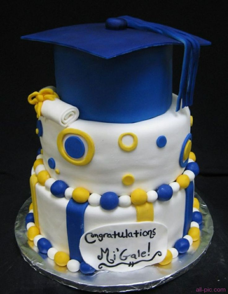 graduation cake for girl