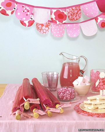Homemade Strawberry Marshmallows... from Martha Stewart