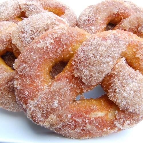 Soft Pretzels~with cinnamon sugar