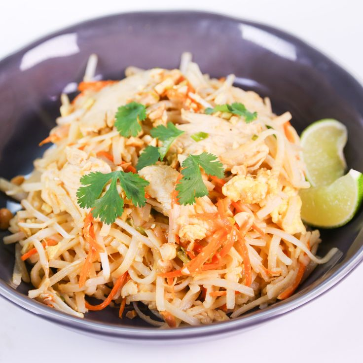 Chicken Pad Thai from The Chew....this was good! Next time i wouldn't ...