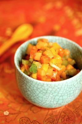 Fruit Salsa Recipes: Tropical Fruit Salsa with Mango, Kiwi, Jalapeno ...