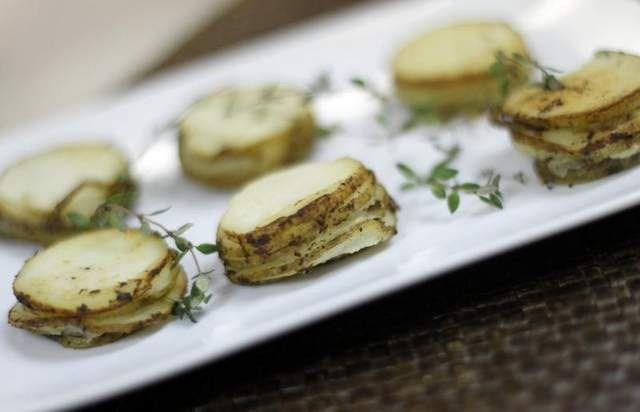 Muffin-Pan Potato Gratin | Food | Pinterest