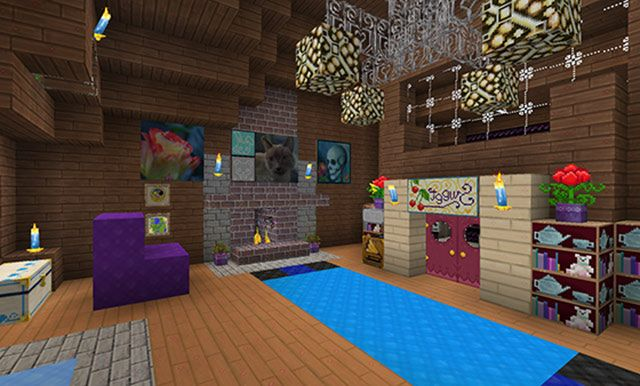 Cool room minecraft pinterest for Cool things for rooms