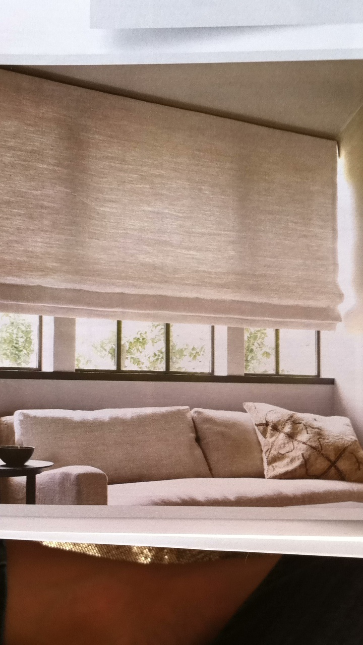 Window treatments restoration hardware window for Restoration hardware window shades