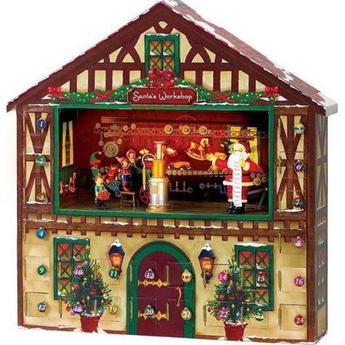 Bnib mr christmas animated advent calendar house music for Christmas house music
