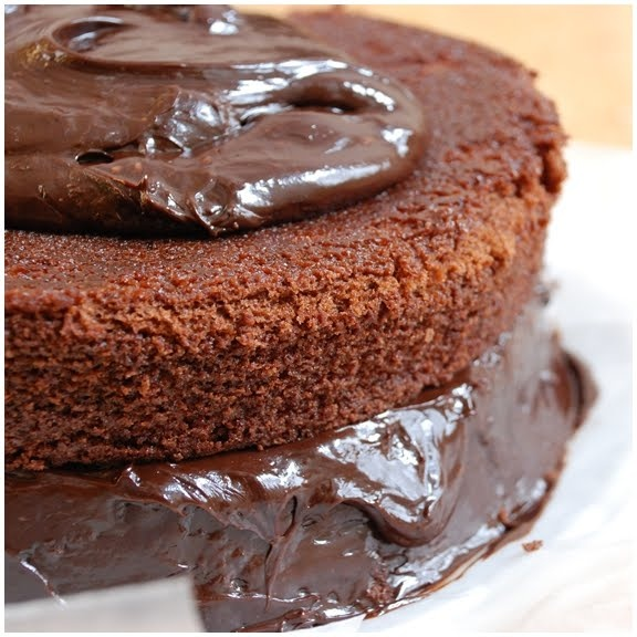 Chocolate Layer Cake with Mocha Milk Chocolate Frosting