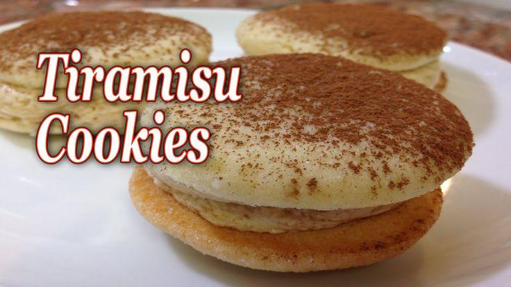 Tiramisu Cookies | Just Food | Pinterest