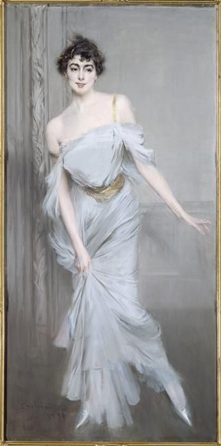 Portrait of Mme Charles Max by Giovanni Boldini, 1896, Musee d'Orsay