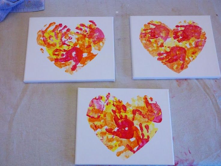 valentine's day painting ideas for toddlers