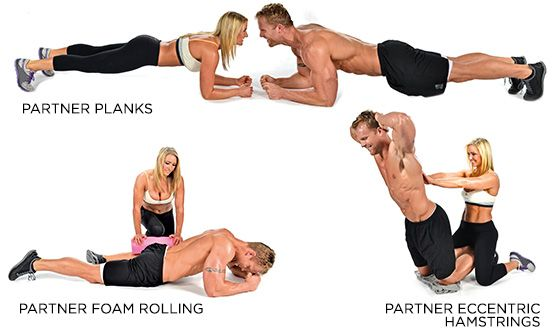 Partner Workout Plans: Building The Perfect Body Together - K and K Couples Workout - Bodybuilding.com