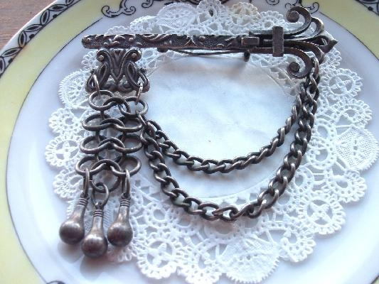 Vintage Key Brooch Pin
