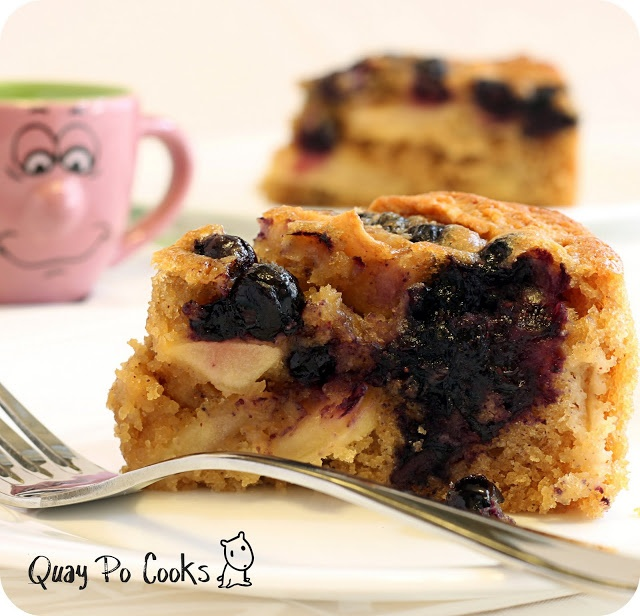 Blueberry Apple Cake | Tried and True Recipes | Pinterest