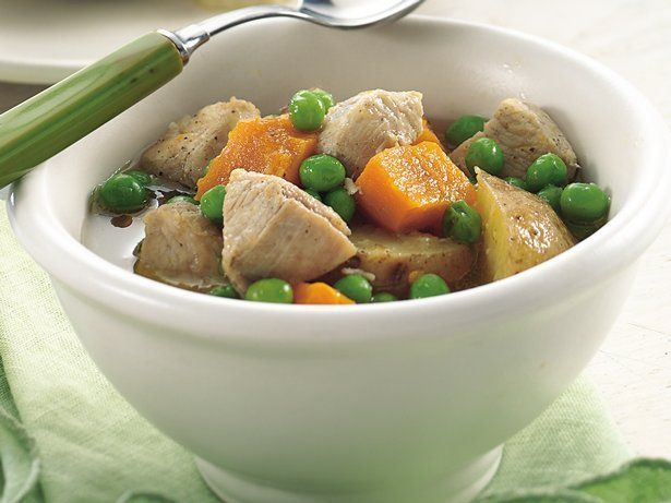 ... add fresh flavor to a chunky soup brimming with turkey and vegetables