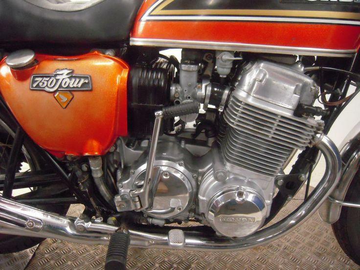 1974 cb750 detail funky bikes pinterest