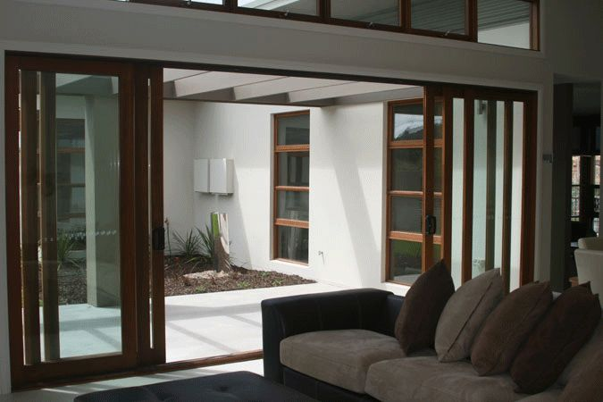 Sliding stacking doors favorite places spaces pinterest for Stacking doors