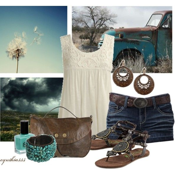 Country Girl, polyvore