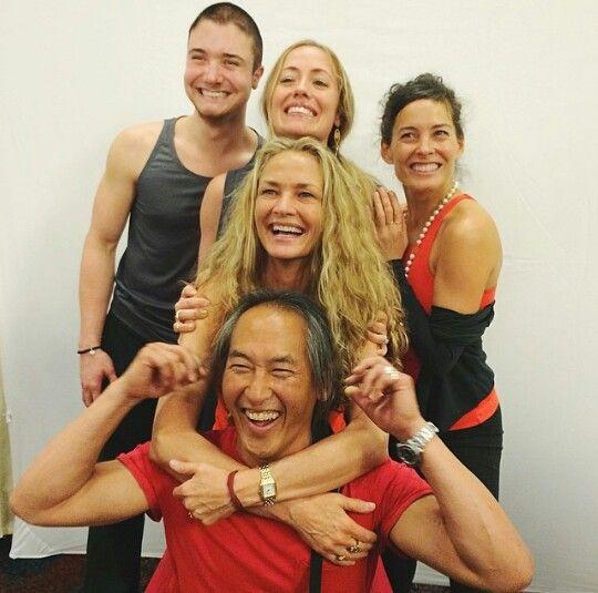 Colleen saidman rodney yee kathryn budig at yoga journal conference