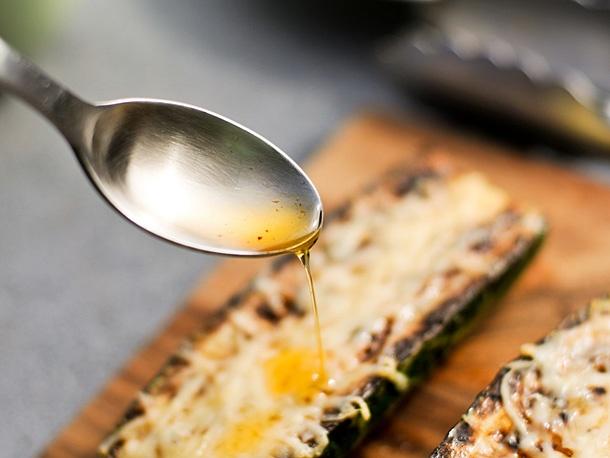 Grilling: Zucchini with Parmesan and Garlic Chili Oil | Recipe