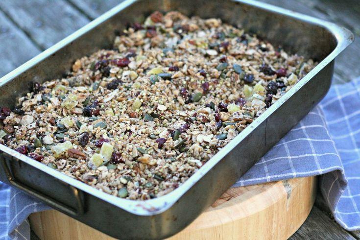 Crunchy Quinoa & Buckwheat Granola | Breakfast ideas | Pinterest