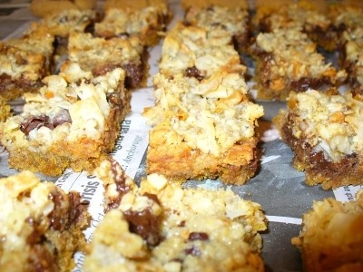 Christmas Cookies: Hello Dolly Bars