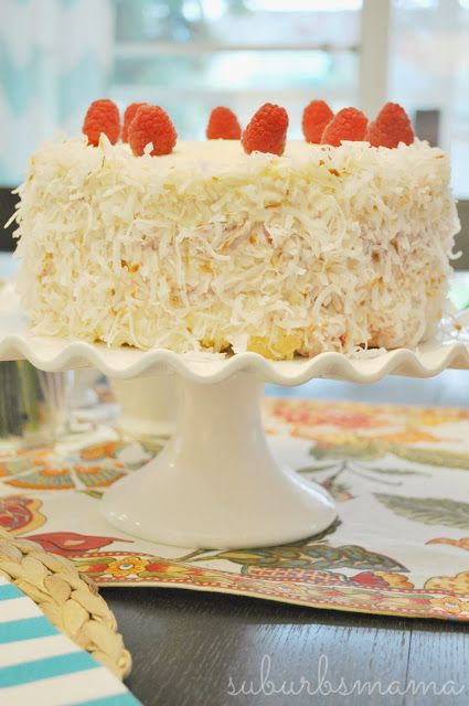 Coconut Raspberry Cake | Have Your Cake & Eat It Too | Pinterest