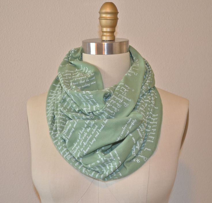 of green gables book scarf limited edition