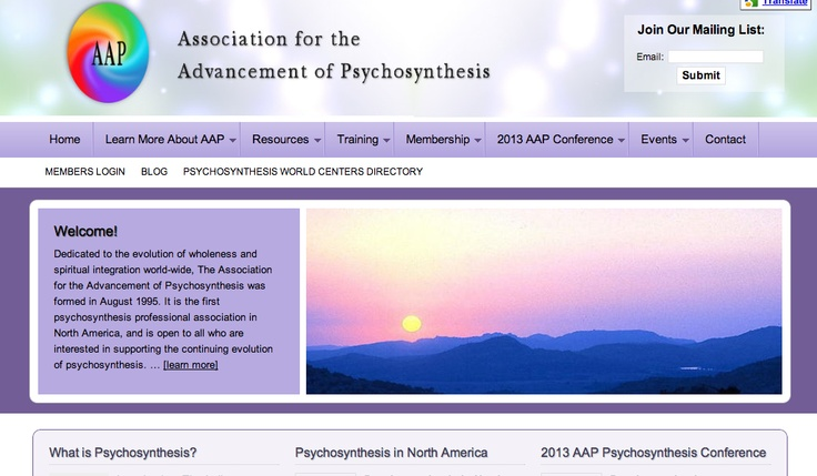 aap psychosynthesis