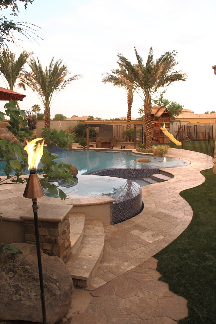 Feature Project By Unique Landscapes Custom Pools In