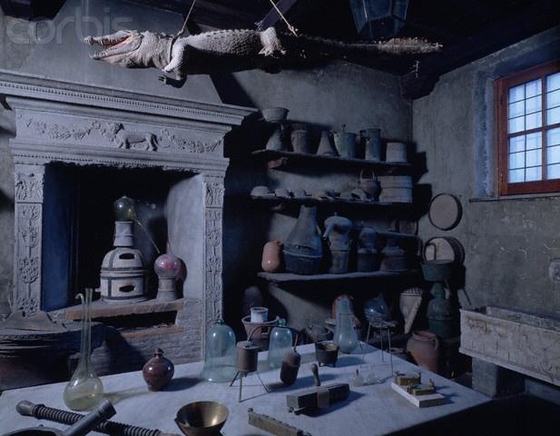 alchemist lab equipment