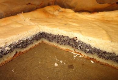 Mohn-Quark-Kuchen vom Blech Rezept - Rezepte kochen - kochbar.de