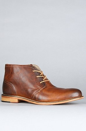 J Shoes The Monarch Boot in Clyde Glow,Boots for Men, 10.5,Brown $150.00